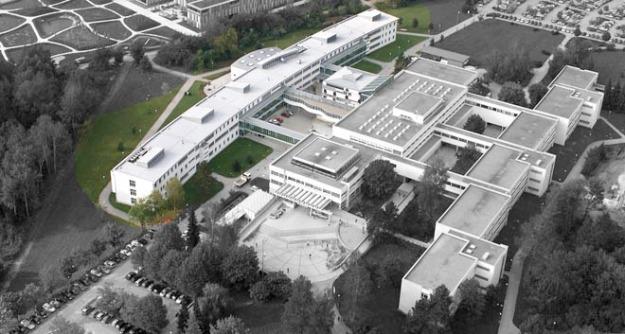 Luftbild Uni Zubau