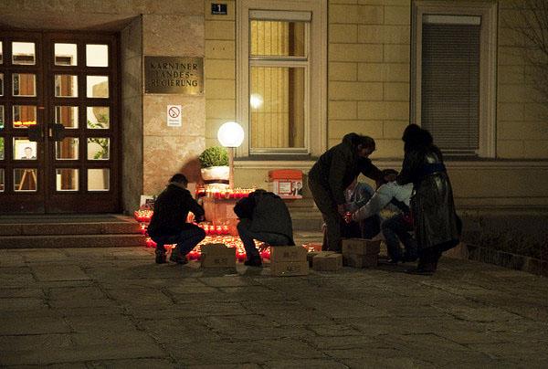Kistenweise Trauer, 26. 2. 2009
