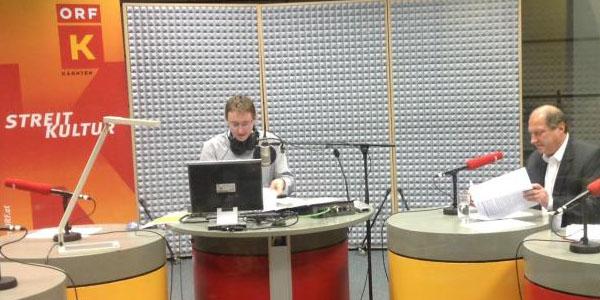 Rolf Holub in der Radio Kärnten Streitkultur