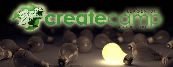 CreateCamp Klagenfurt 2013